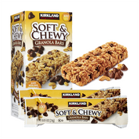 Soft & Chewy Granola Bars (Chocolate Chip)