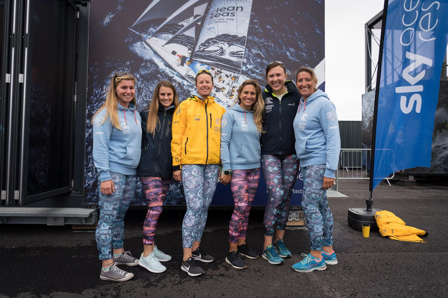 Dee Caffari | Turn the Tide on Plastic | Sailing the world wearing Olas in the Volvo Ocean Race