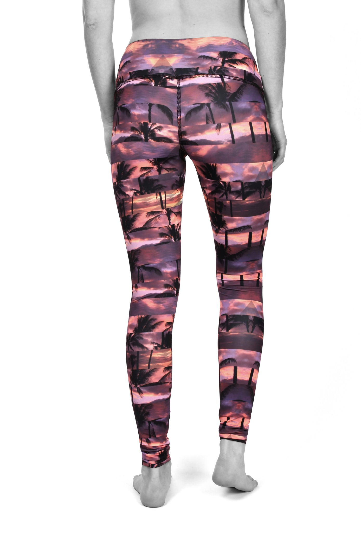 Tropical prism legging