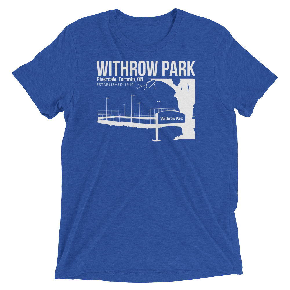 Withrow Park T (Royal Blue/White)