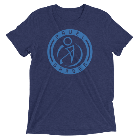PB Logo T (Navy/Light Blue)