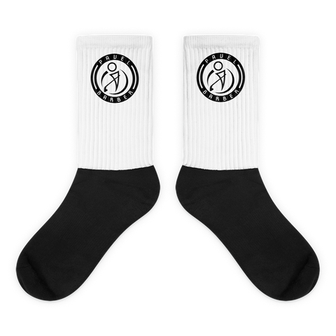 Pavel Barber Logo Socks