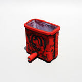 CUTLERY HOLDER red