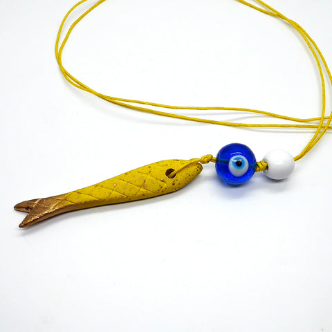 necklace_with_yellow_ceramic_fish_devil_eye_woodenball_gift_fashion_mediterranean_lifestyle