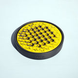 RADIO SOAP DISH black, yellow