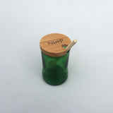 upcycling_honey_jar_green_wood_glass_kitchen_nloop_corfu_tea