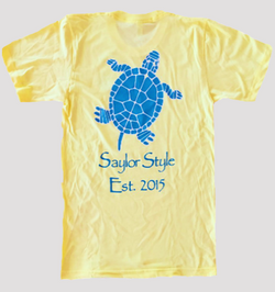 Hawaiian Turtle Back Tee