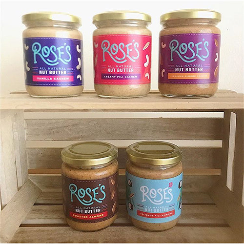 It's Rose's Turn: All-Natural Nut Butters from Rose's Kitchen