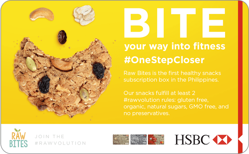 HSBC Redeem your free Raw Bites box