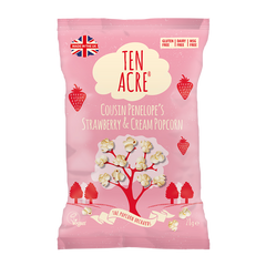 TEN ACRE | strawberry cream popcorn