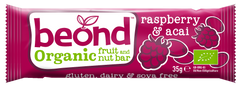 BEOND | raspberry acai fruit & nut bar (