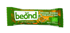 BEOND organic baobab pineapple bar