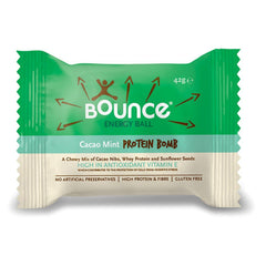 BOUNCE | choco mint protein energy ball