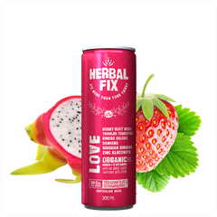 HERBAL FIX | love - dragonfruit & strawberry
