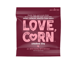 LOVE CORN | smoked bbq corn snack
