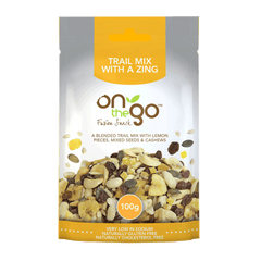 ON THE GO | trail mix with a zing