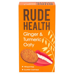 Rude Health - ginger & tumeric oaty
