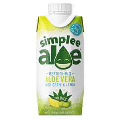 Simplee Aloe - grape & lemon aloe juice