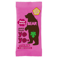 BEAR YO-YO'S | raspberry fruit rolls