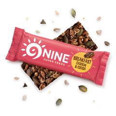 9NINE | cocoa coconut seed bar