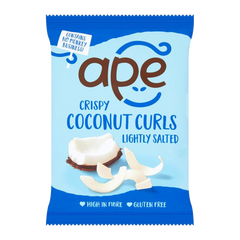 APE SNACKS | lightly salted coconut curls