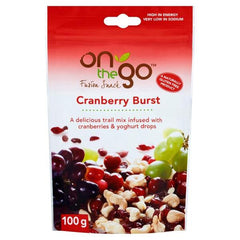 ON THE GO | cranberry yogurt burst