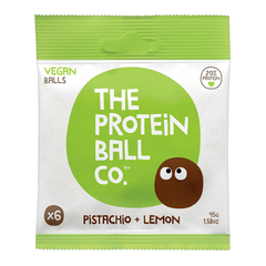 PROTEIN BALL CO. | lemon pistachio protein balls