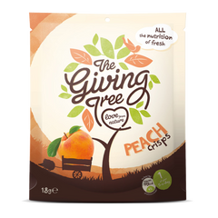 THE GIVING TREE | freeze dried peach crisps
