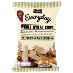 DE LA LITA | sour cream & onion whole wheat crisps