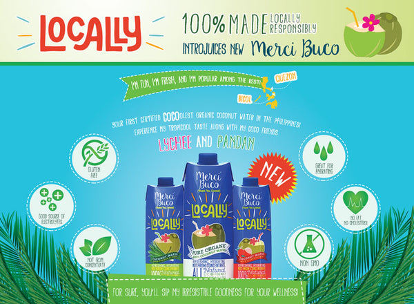 new! merci buco coconut water