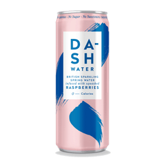 DASH WATER | raspberry sparkling water