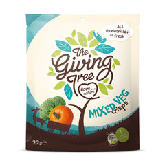 THE GIVING TREE | vacuum fried mixed veggie chips