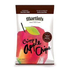 MARTIN'S APPLE CHIPS | dehydrated apple with chocolate drizzle