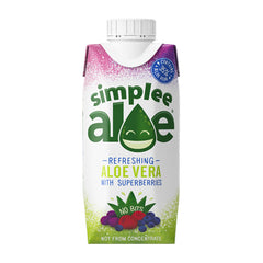 SIMPLEE ALOE | superberries aloe juice