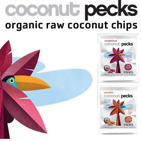 Inspiral Coconut Pecks