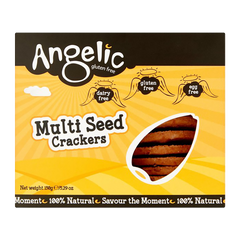 ANGELIC GLUTEN FREE | multiseed crackers (GF •V)