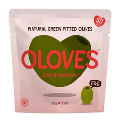 OLOVES | lemon rosemary natural pitted olives (V)