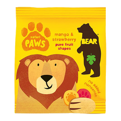 BEAR YO-YO'S | mango & strawberry safari paws (GF • V)