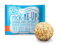 LUV SUM | cashew coconut protein ball
