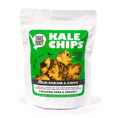 Take Root - sour cream & chive kale chips