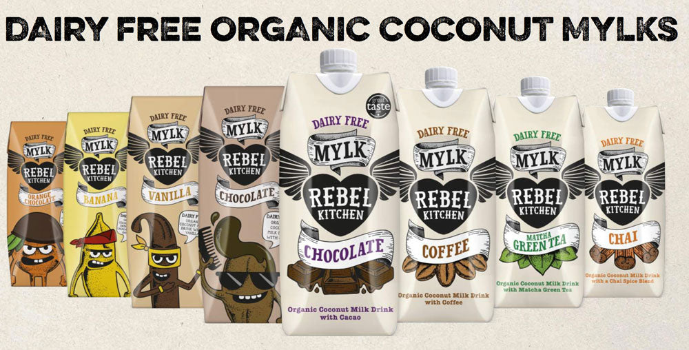 Rebel's Rule: A Review on Rebel Mylk from Rebel Kitchen