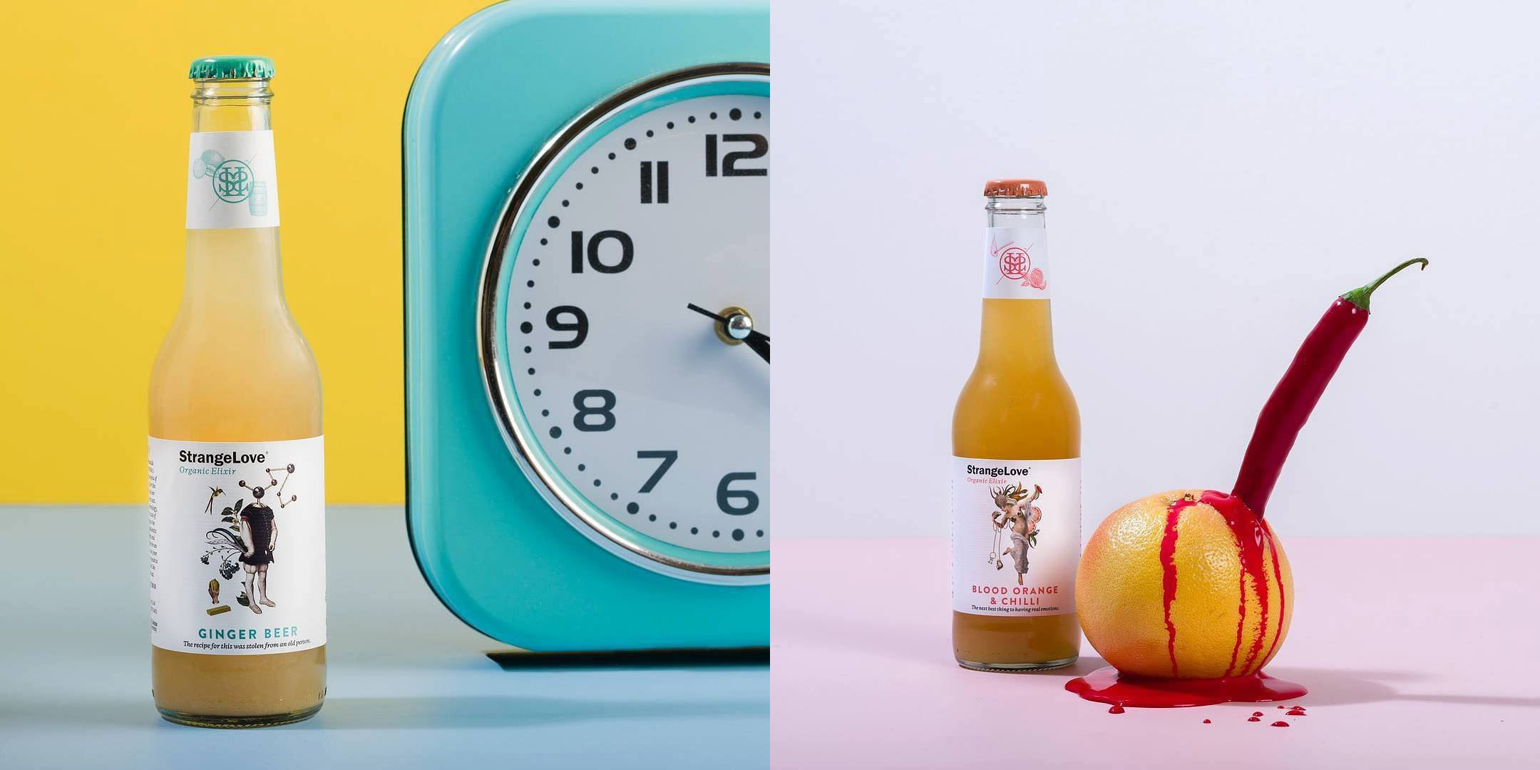 Pick Your (Healthy) Poison from StrangeLove's Organic Softdrinks