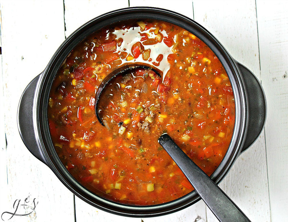 Taco Soup + Homemade Taco Seasoning Recipe