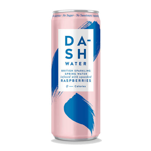 Dash Raspberry Sparkling Water 330ml