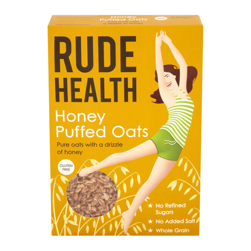 Rude Health Honey Puffed Oats 240g