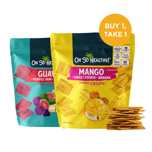 Oh So Healthy! Mango & Guava Crisps 40g (BUY 1, TAKE 1)