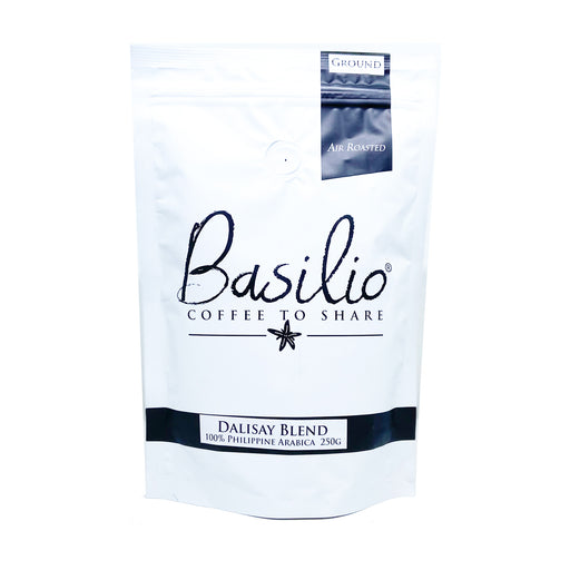 Basilio Coffee Dalisay Blend 250g (Ground, 100% Arabica)