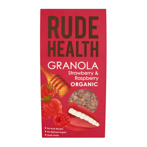 Rude Health Strawberry and Raspberry Granola 450g