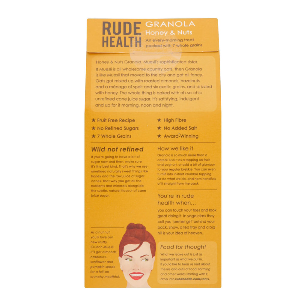Rude Health Honey and Nuts Granola 500g