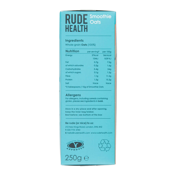 Rude Health Smoothie Oats 250g